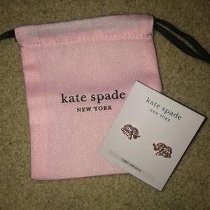 Kate Spade elephant earrings